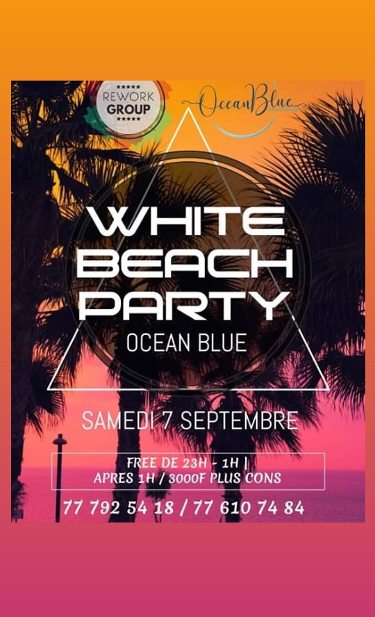 WHITE BEACH PARTY